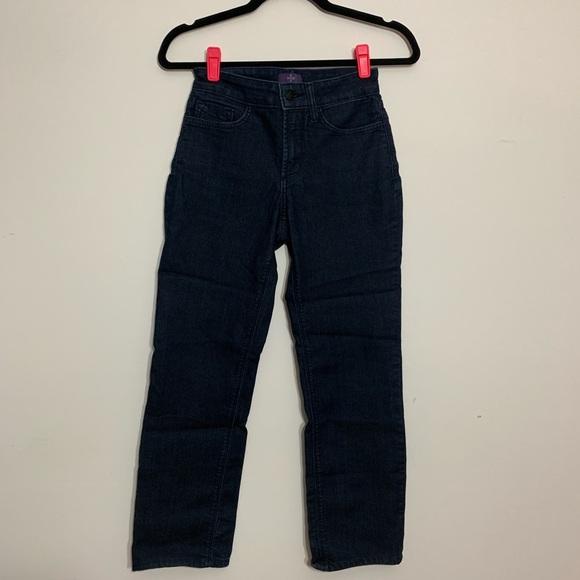 NYDJ Denim - NYDJ Marilyn Straight Jeans, Size 00 Petite